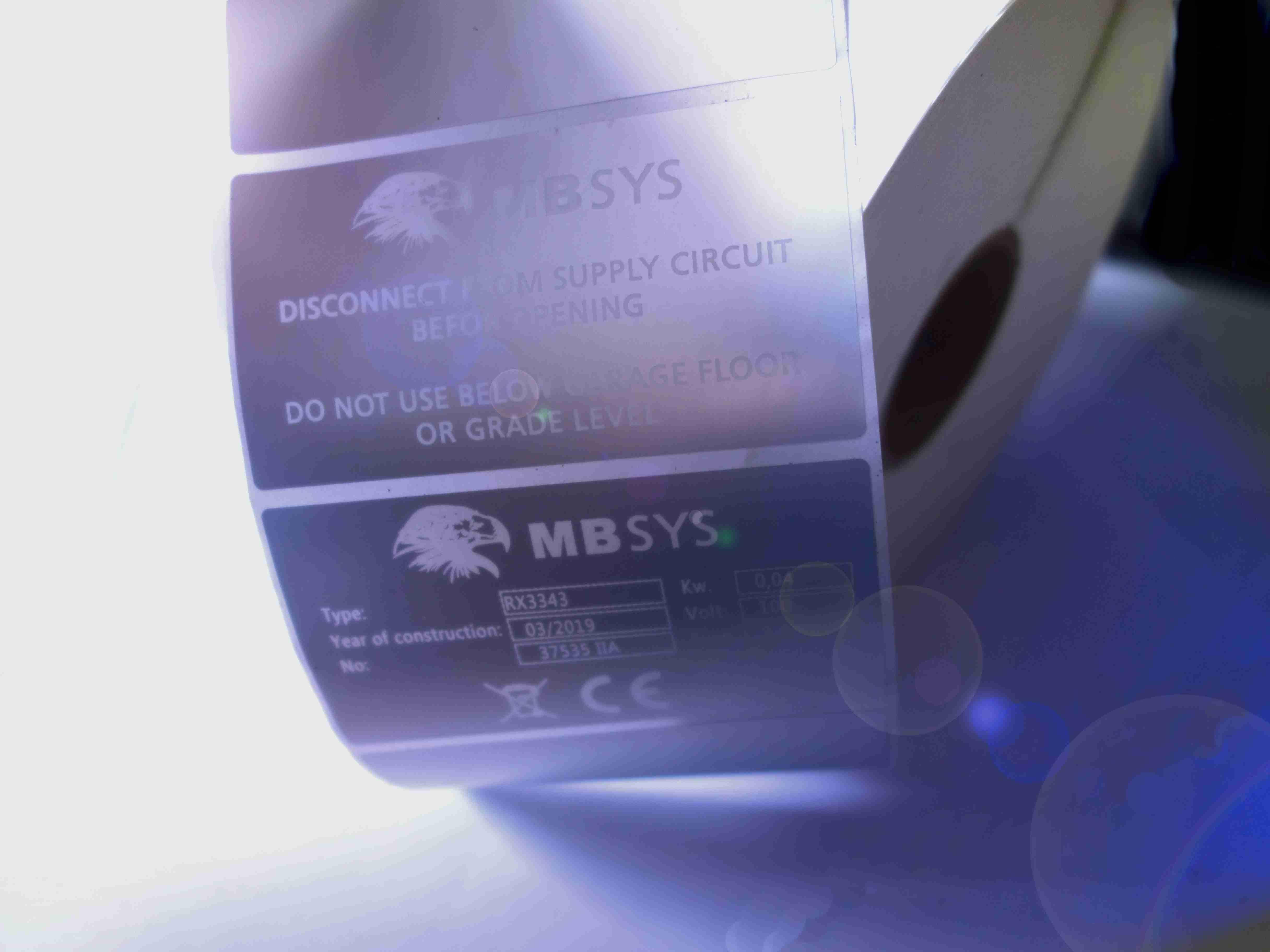 Label Folien geeignet zur Laserbeschriftung